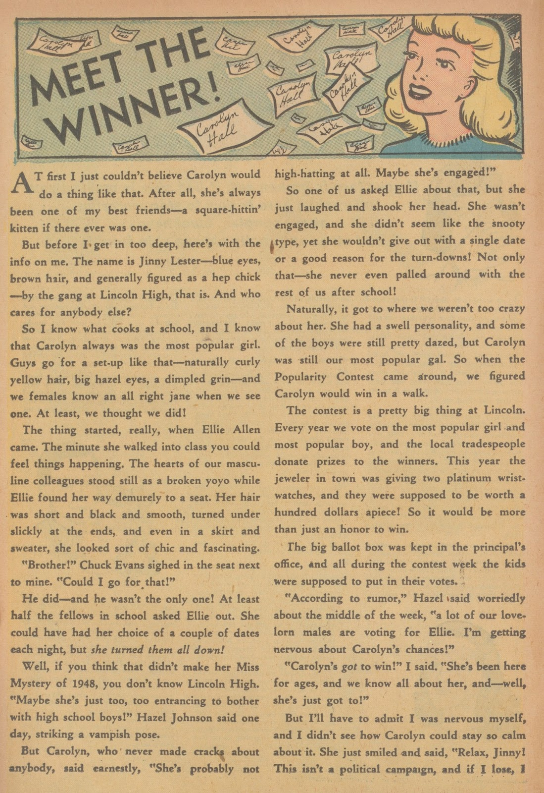 Read online Nellie The Nurse (1945) comic -  Issue #21 - 26