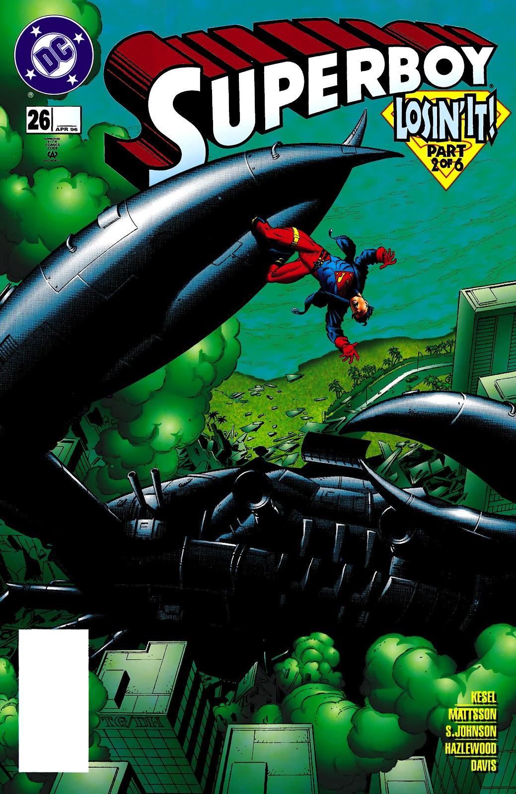 Superboy (1994) 26 Page 1