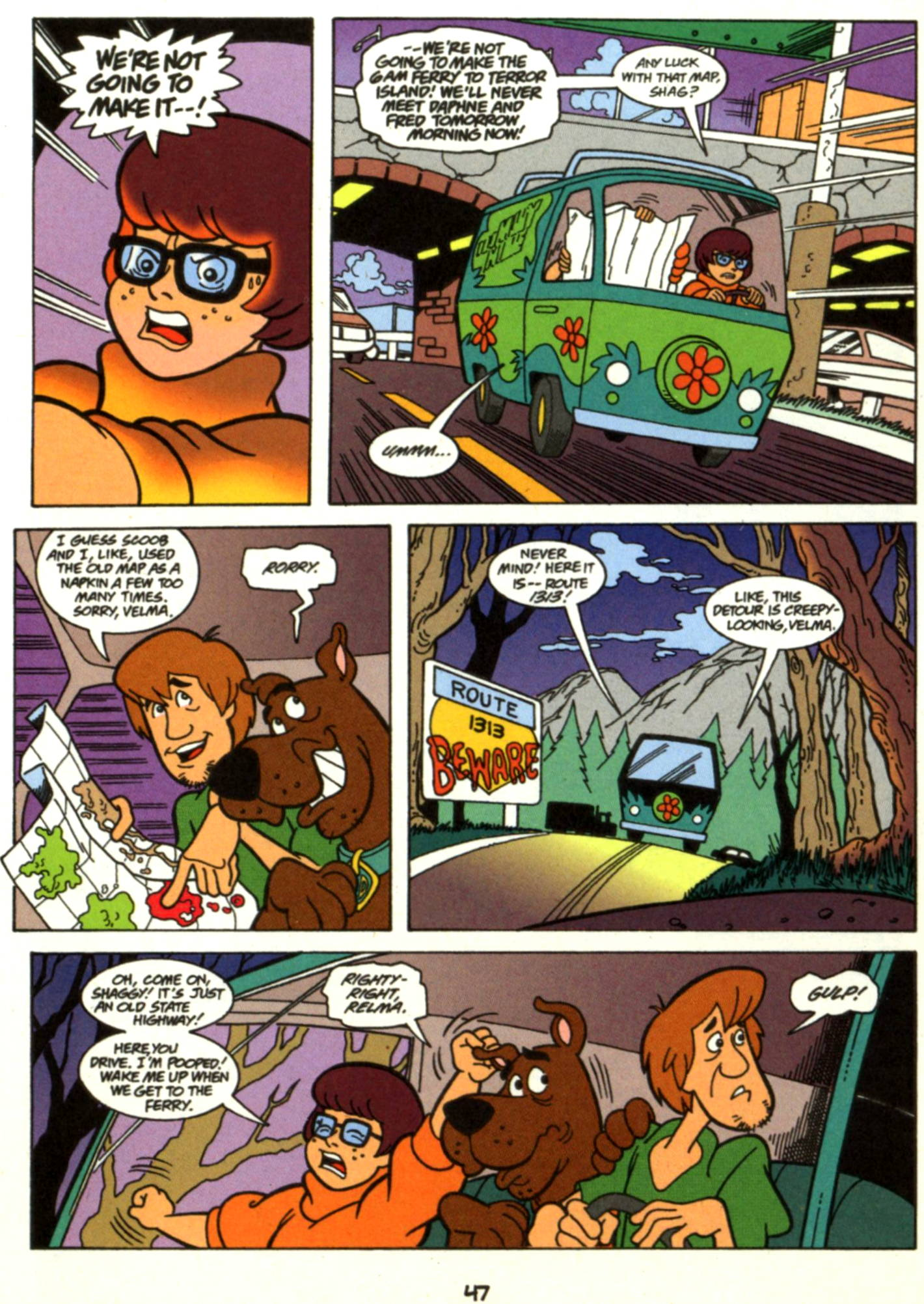 Read online Scooby-Doo (1997) comic -  Issue #17 - 24