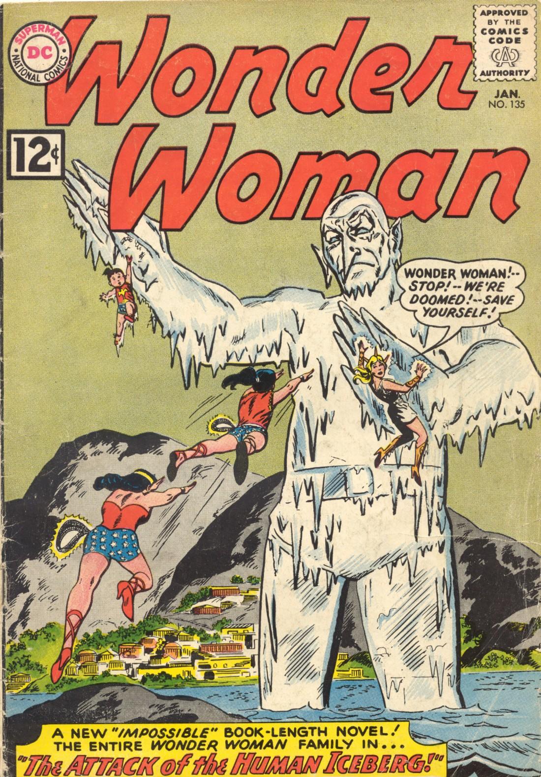 Read online Wonder Woman (1942) comic -  Issue #135 - 1