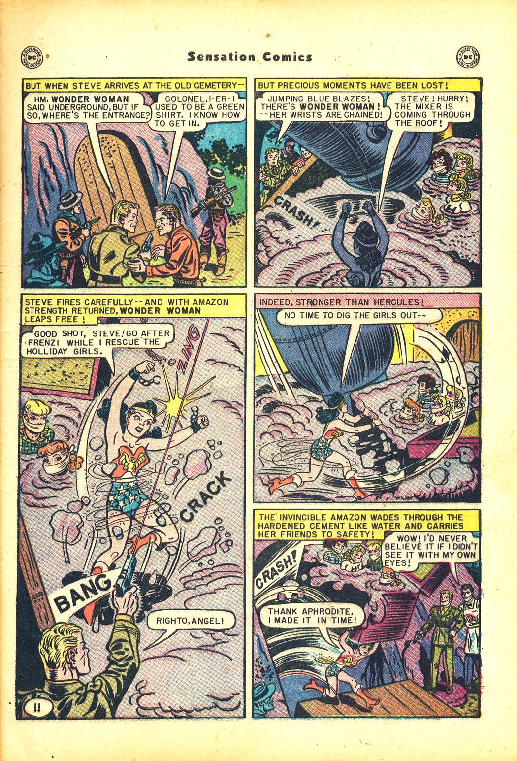 Read online Sensation (Mystery) Comics comic -  Issue #81 - 13
