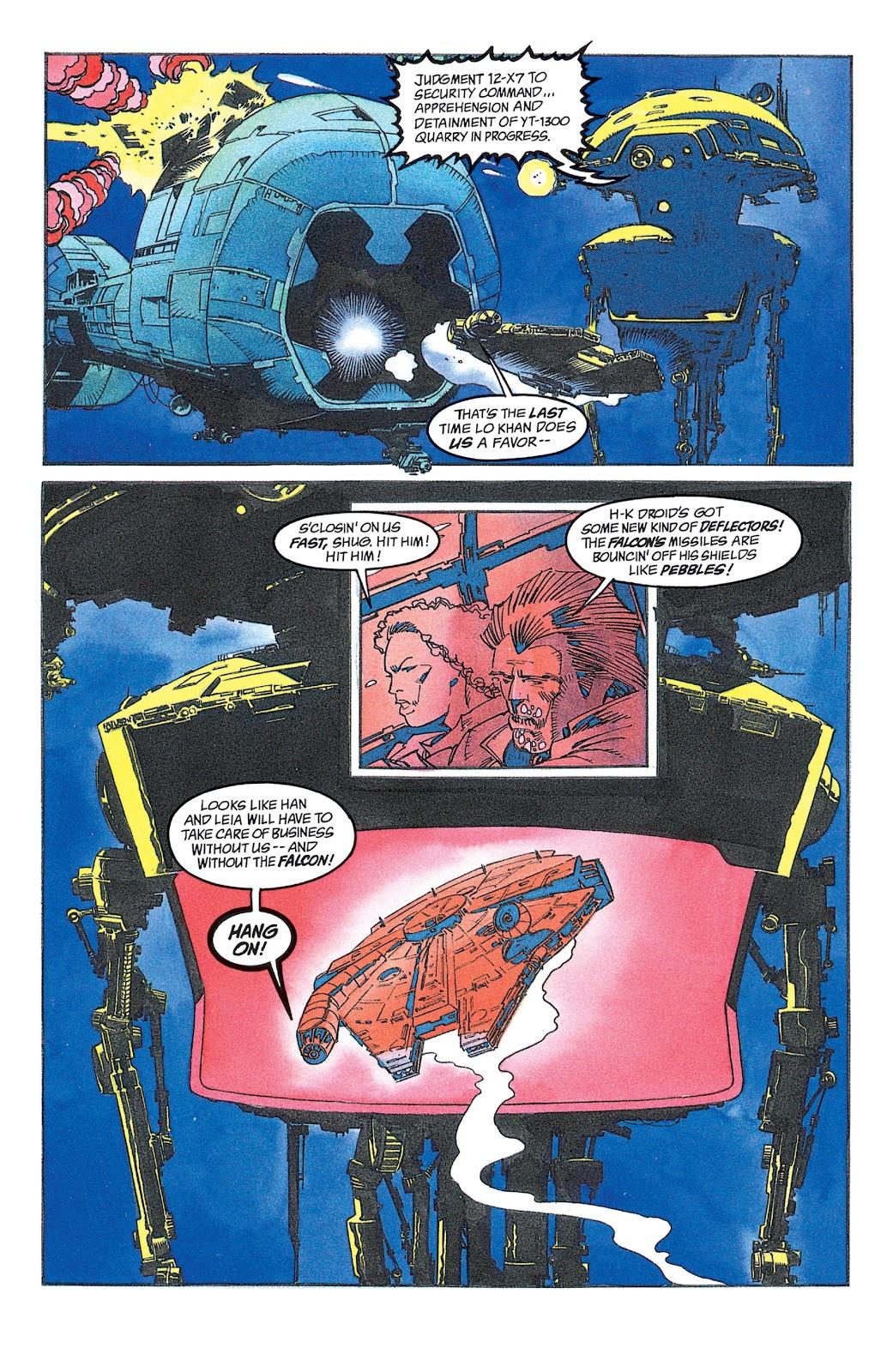 Read online Star Wars: Dark Empire Trilogy comic -  Issue # TPB (Part 2) - 10