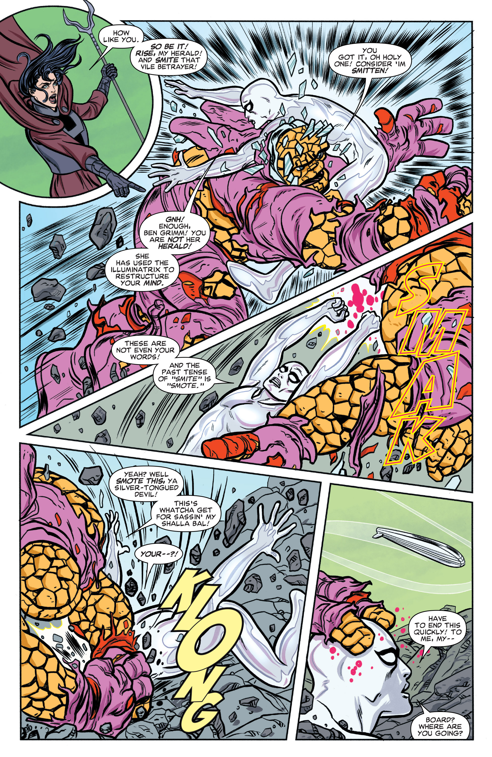 Read online Silver Surfer (2016) comic -  Issue #3 - 5