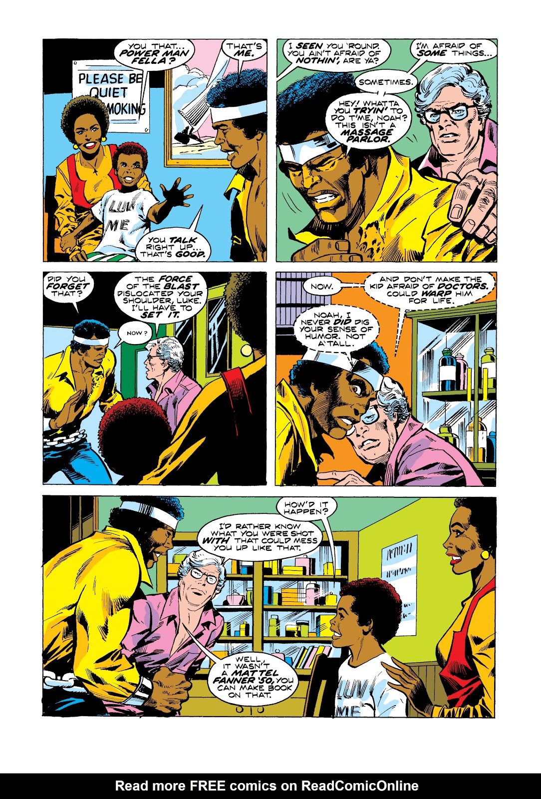 Read online Marvel Masterworks: Luke Cage, Power Man comic -  Issue # TPB 2 (Part 3) - 31