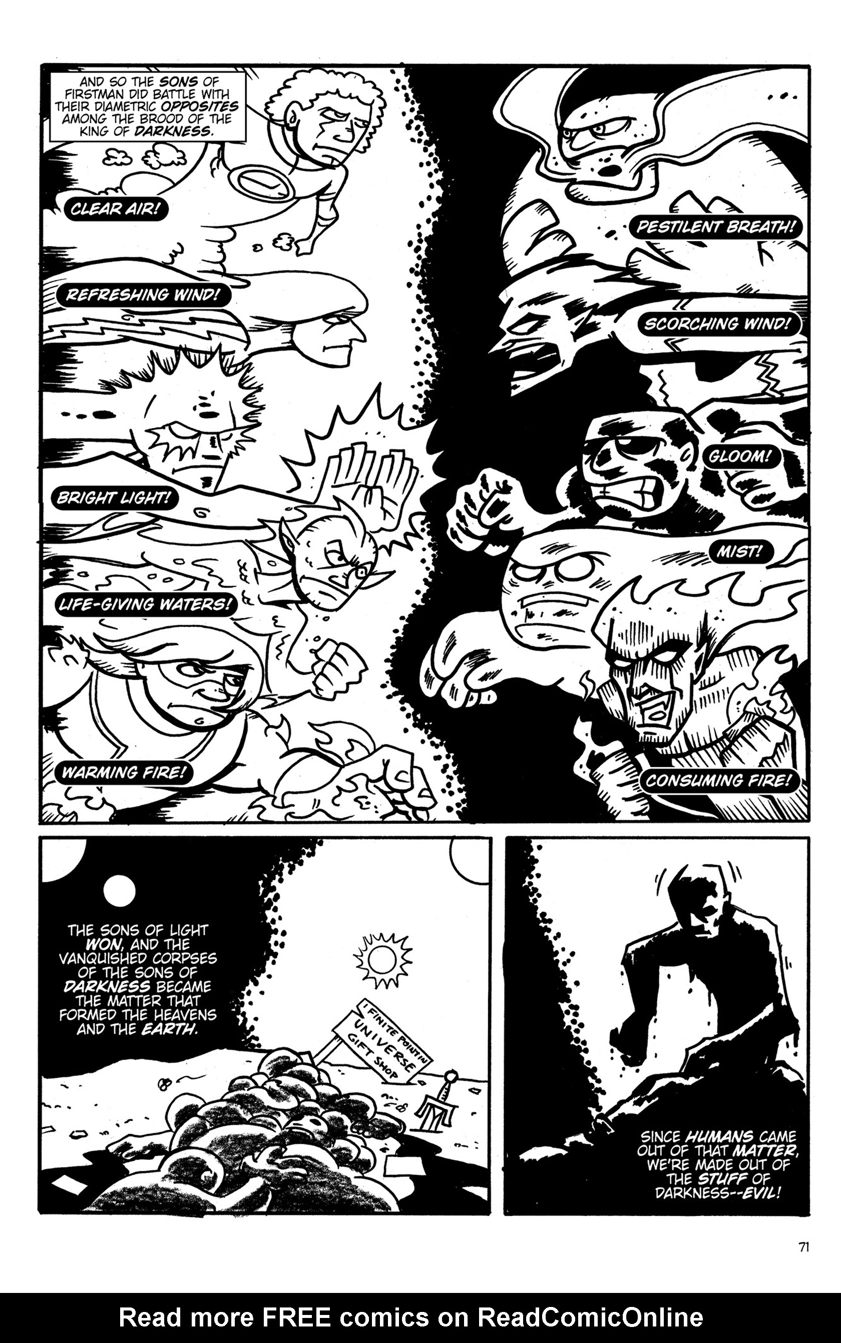 Read online Action Philosophers! comic -  Issue #Action Philosophers! TPB (Part 1) - 71