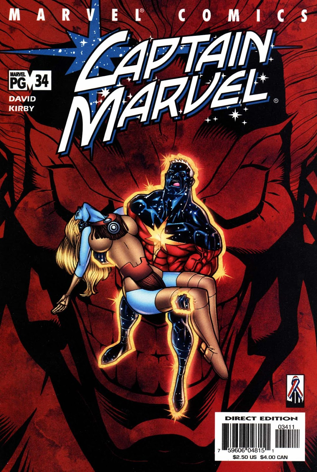 Captain Marvel (1999) 34 Page 1