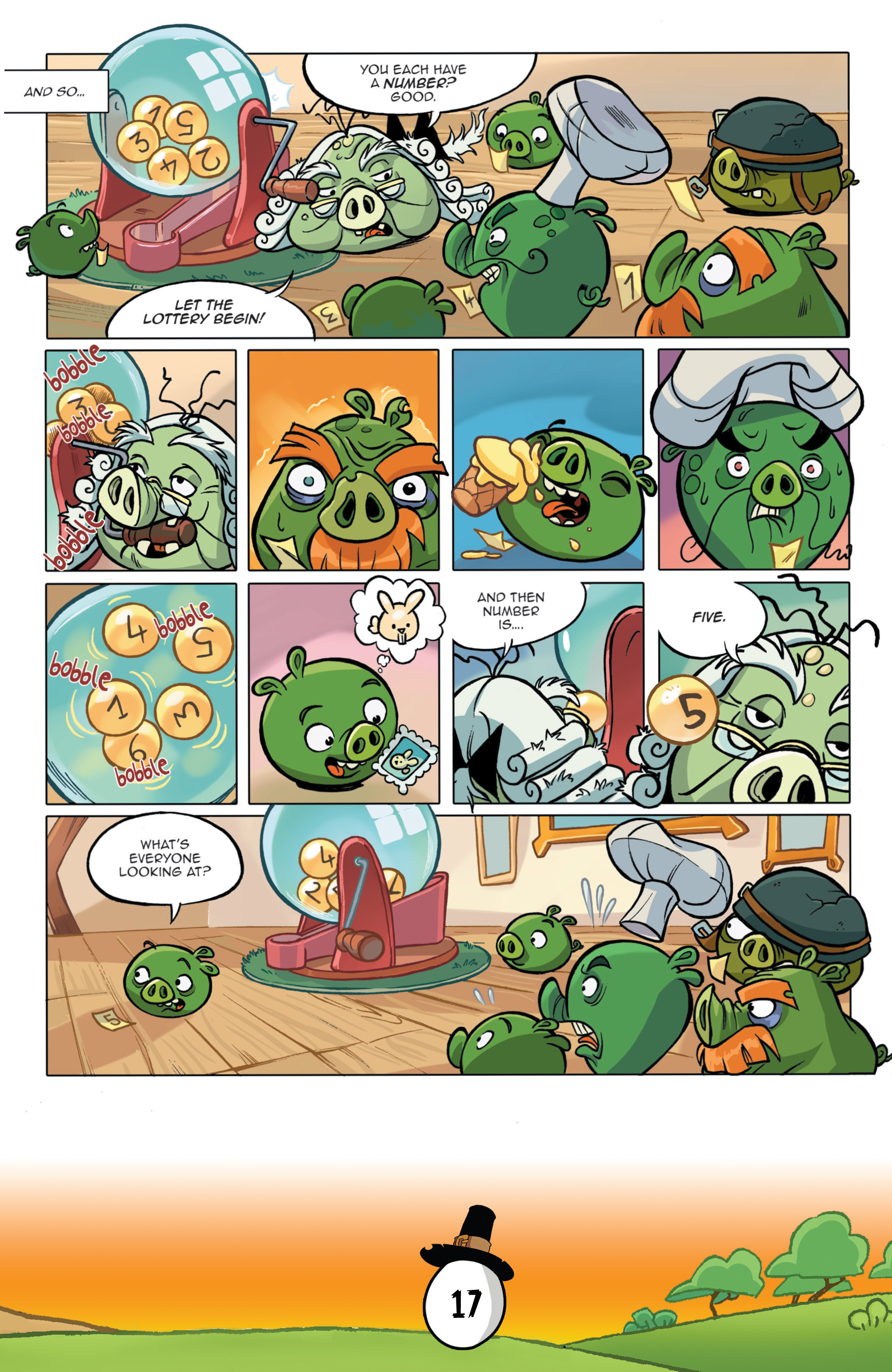 Read online Angry Birds Comics (2016) comic -  Issue #11 - 19