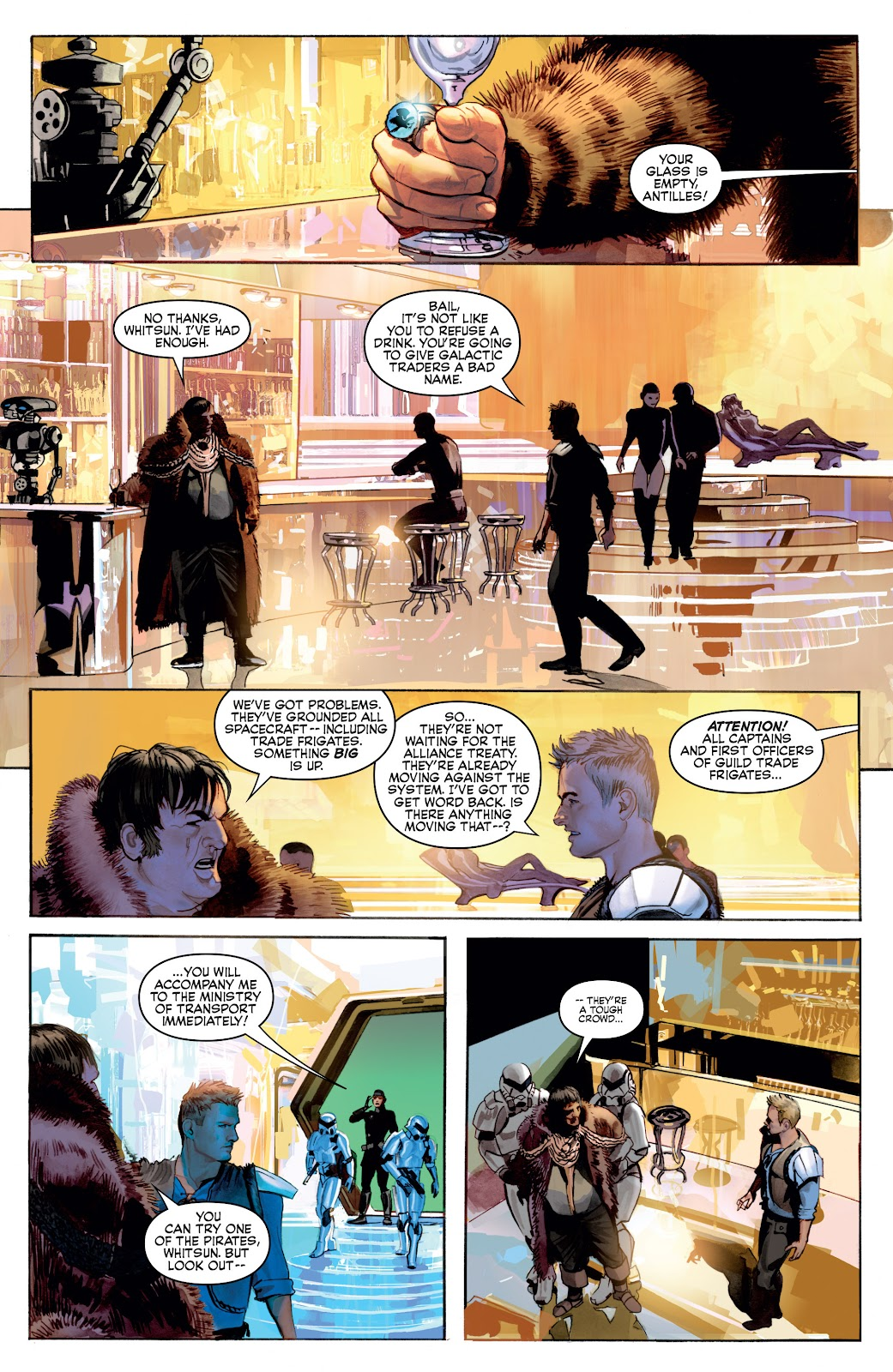 Read online Star Wars Legends: Infinities - Epic Collection comic -  Issue # TPB (Part 4) - 4