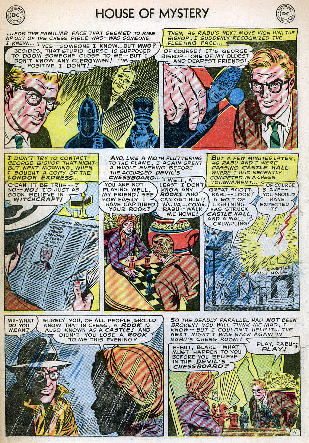 Comic House of Mystery (1951) issue 12