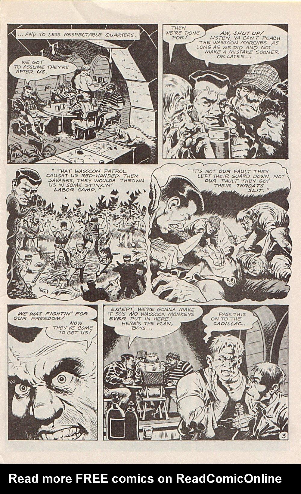 Read online Xenozoic Tales comic -  Issue #1 - 6