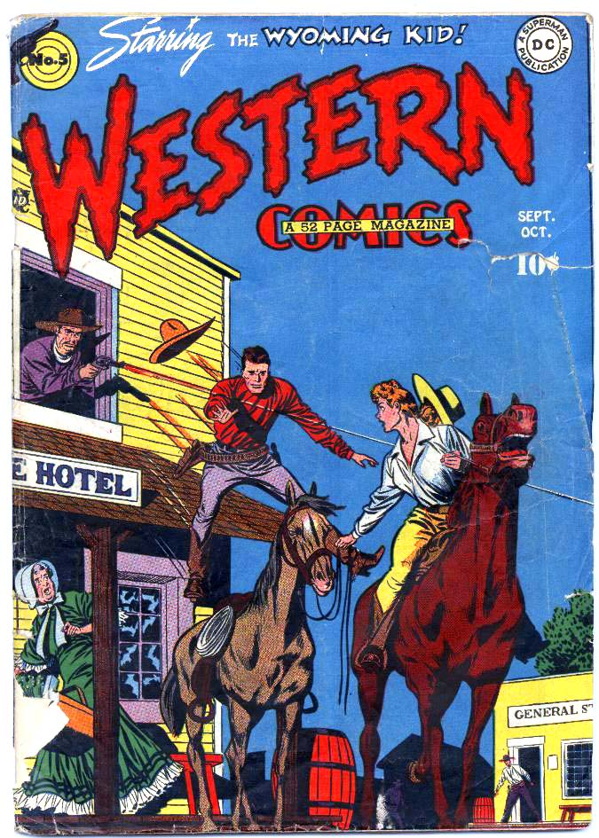 Western Comics 5 Page 1