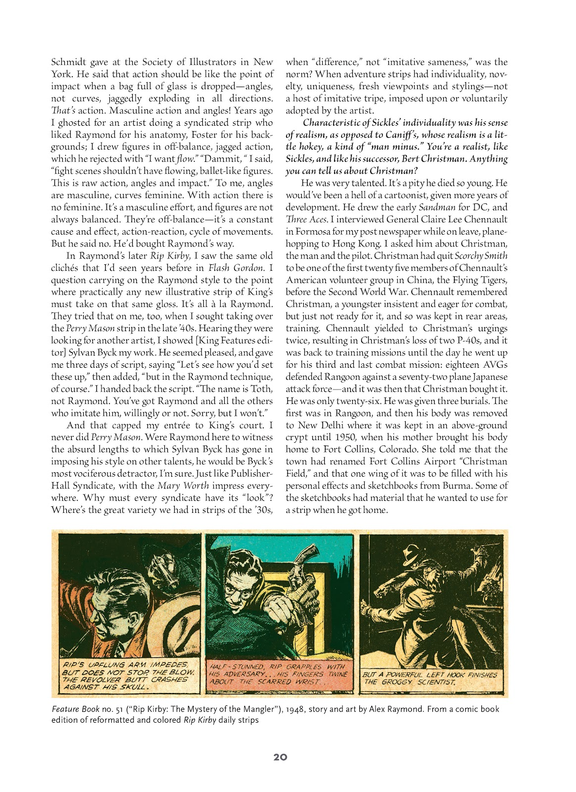 Read online Setting the Standard: Comics by Alex Toth 1952-1954 comic -  Issue # TPB (Part 1) - 19