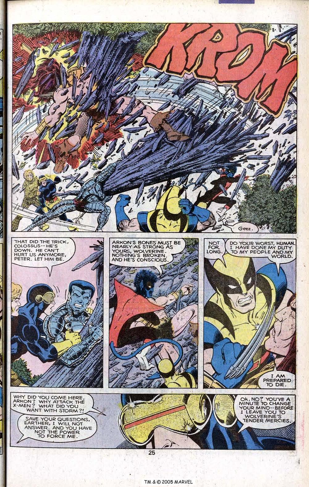 Read online Uncanny X-Men (1963) comic -  Issue # _Annual 3 - 27