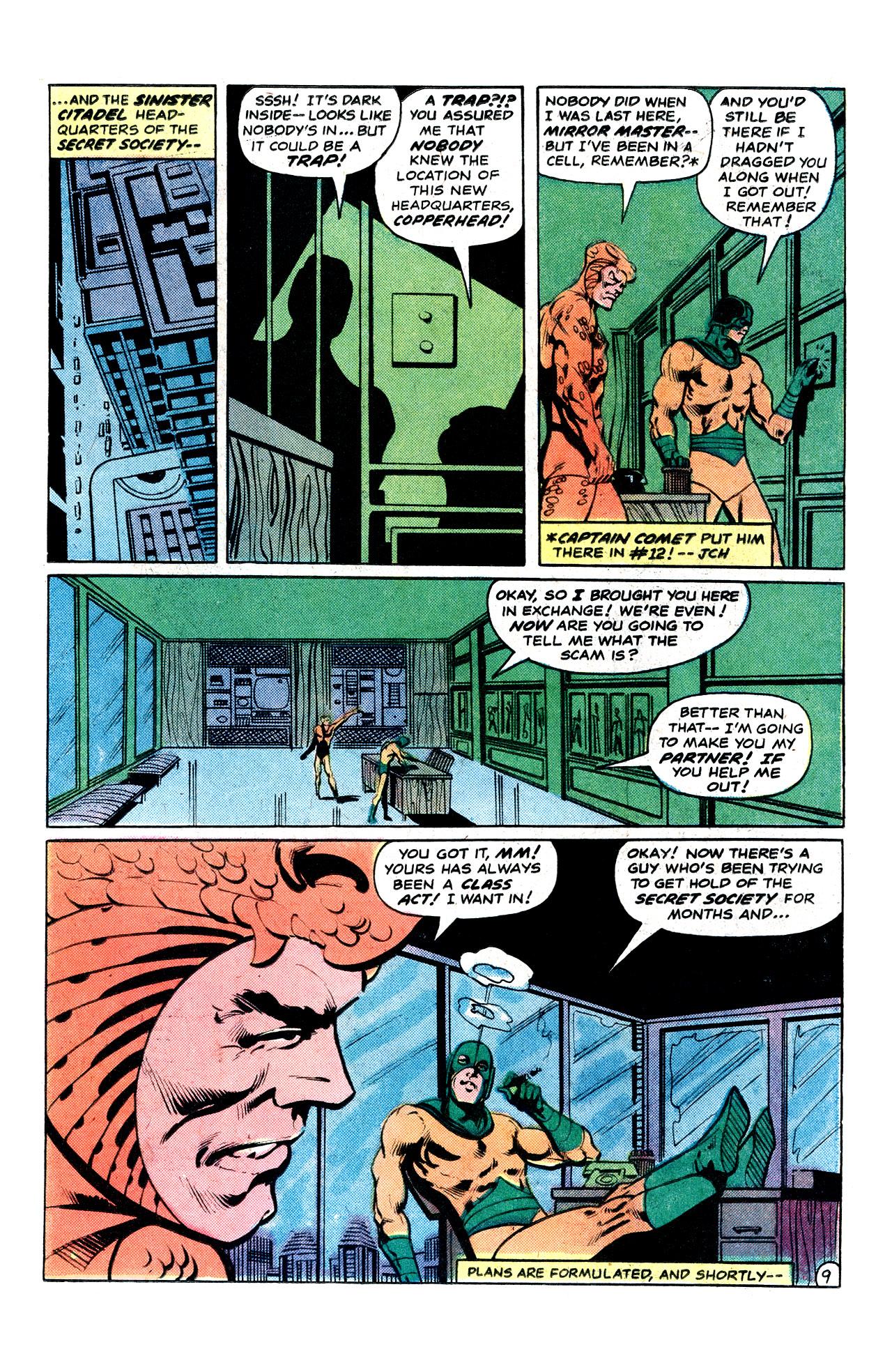 Read online Secret Society of Super-Villains comic -  Issue #15 - 15
