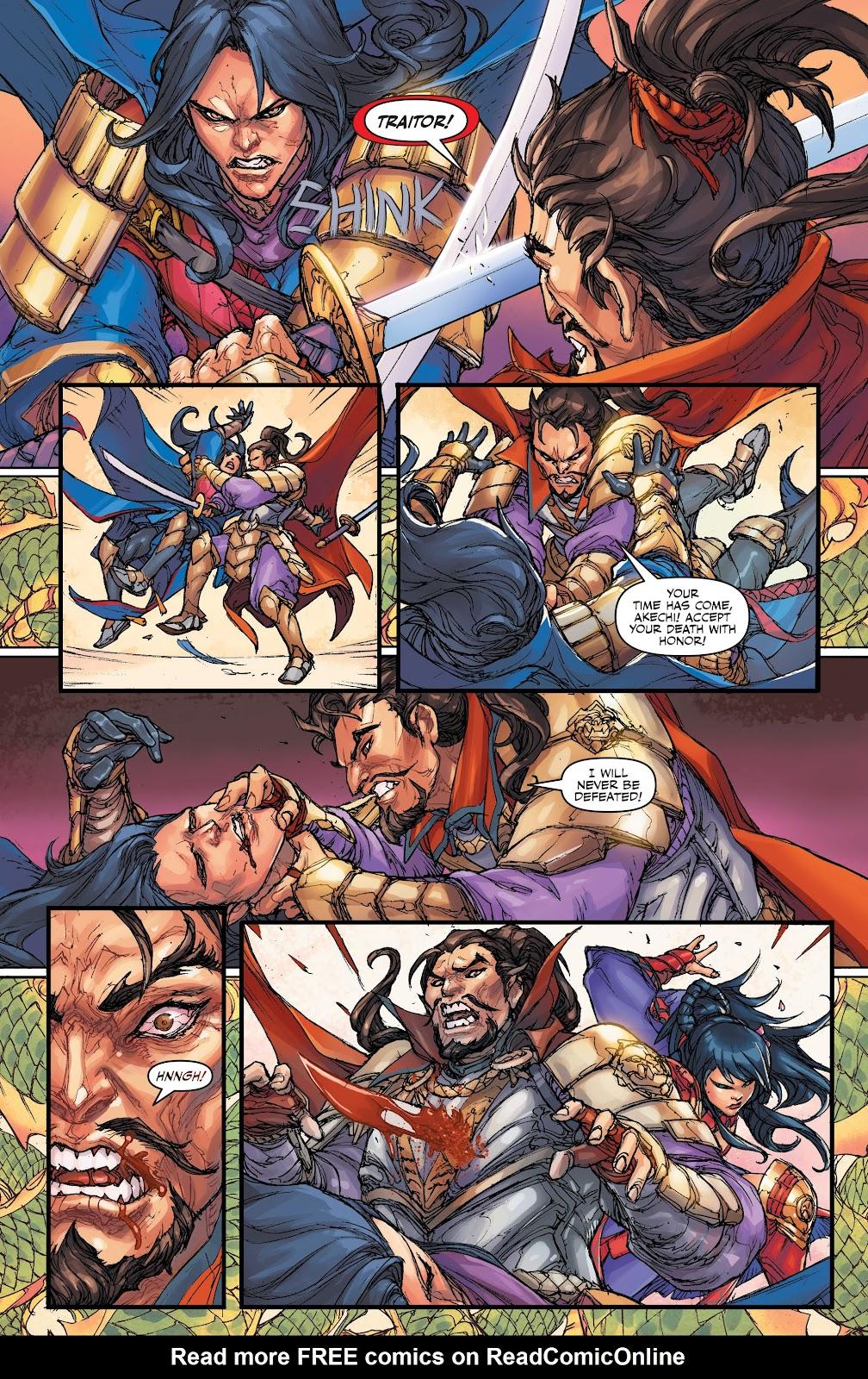 Read online Oniba: Swords of the Demon comic -  Issue # Full - 14