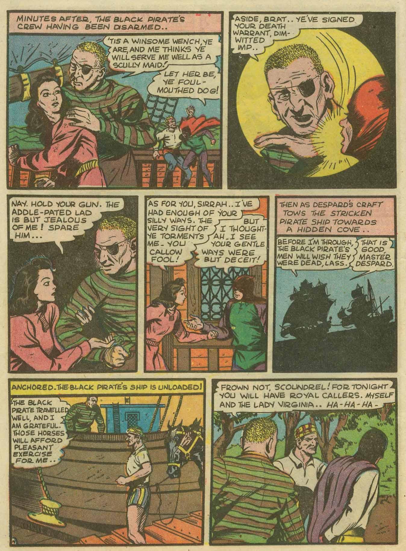 Read online Sensation (Mystery) Comics comic -  Issue #14 - 20
