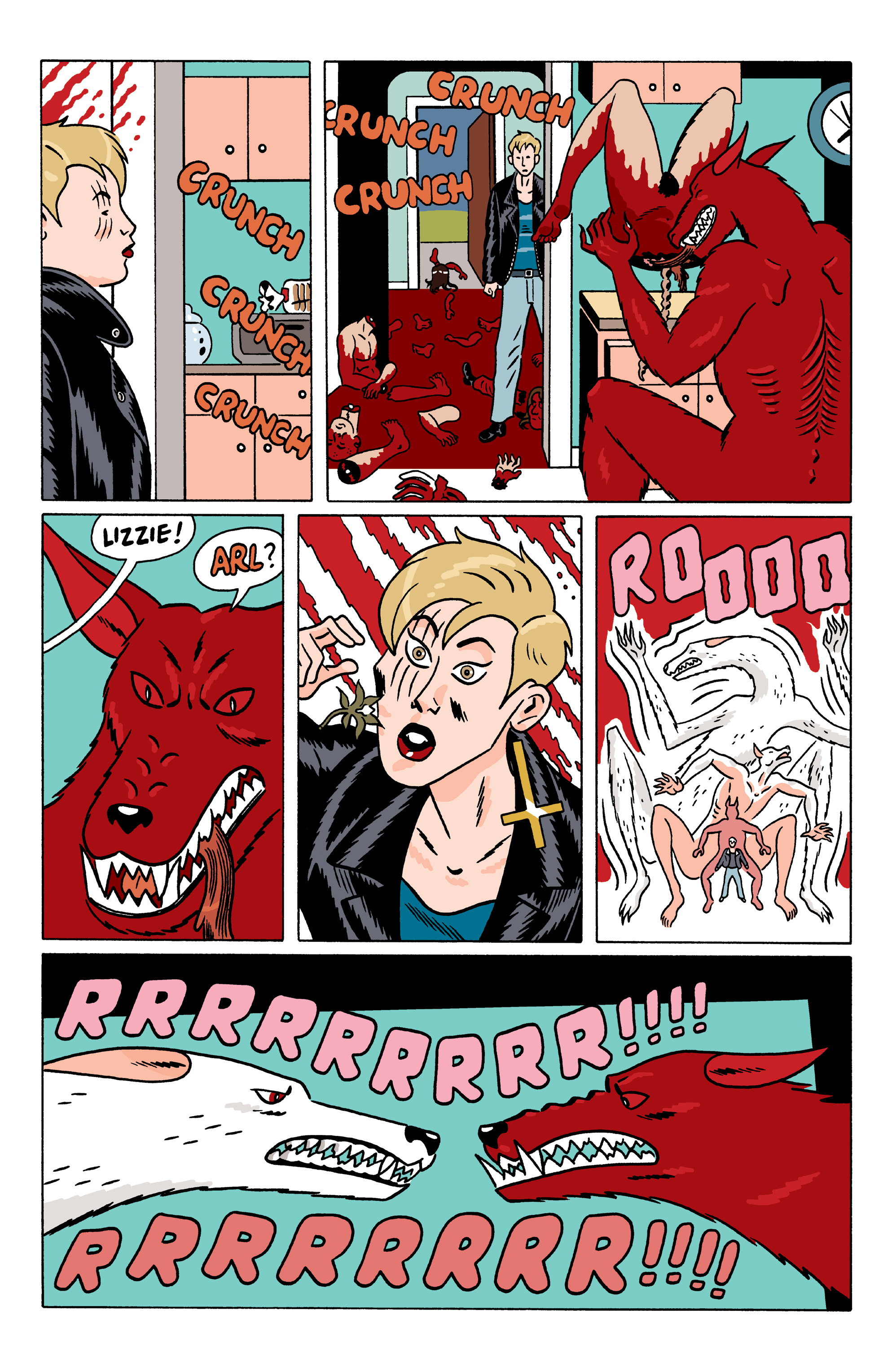 Read online She Wolf comic -  Issue #6 - 12