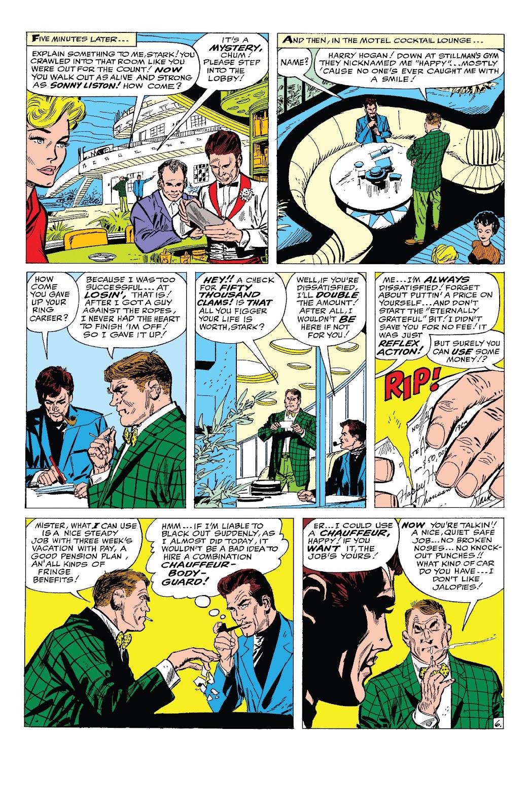 Read online Marvel Tales: Iron Man comic -  Issue # Full - 25