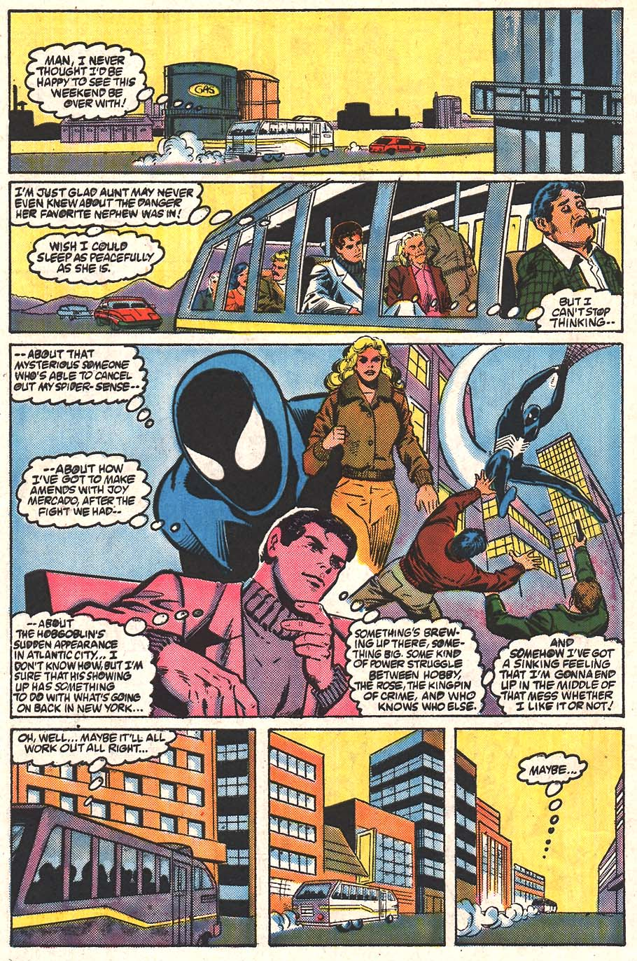 Web of Spider-Man (1985) Issue #24 #34 - English 24