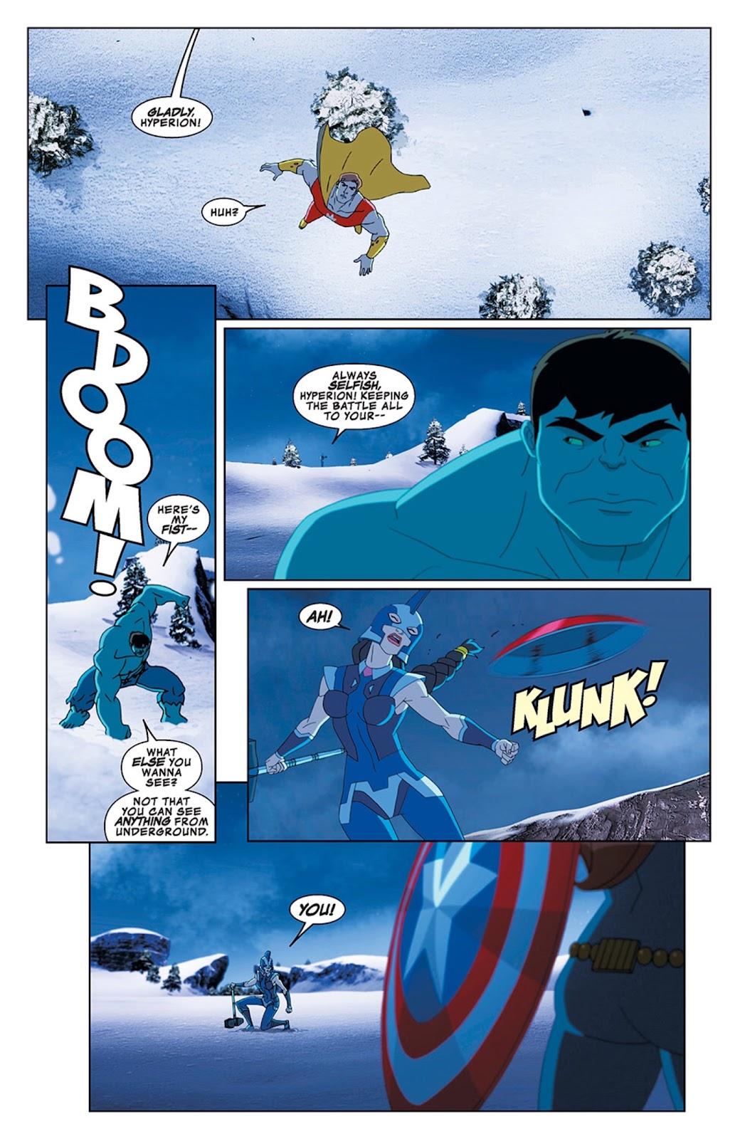 Read online Marvel Universe Avengers Assemble Season 2 comic -  Issue #13 - 10