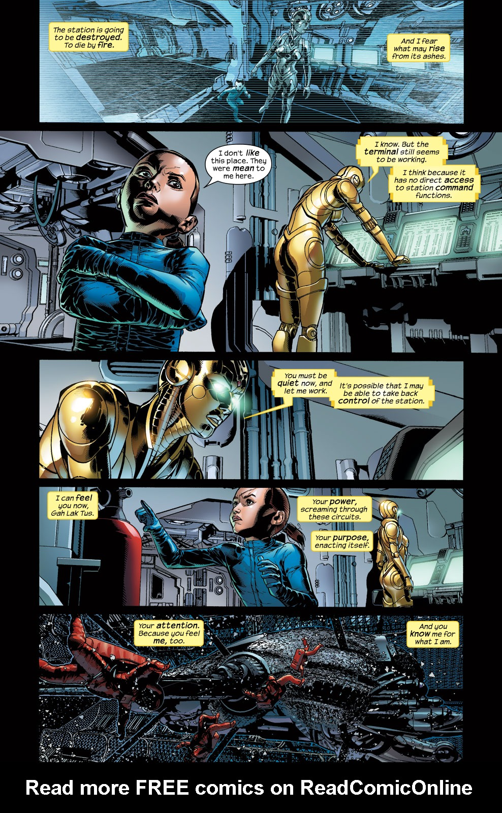 Read online Ultimate Vision comic -  Issue #3 - 9
