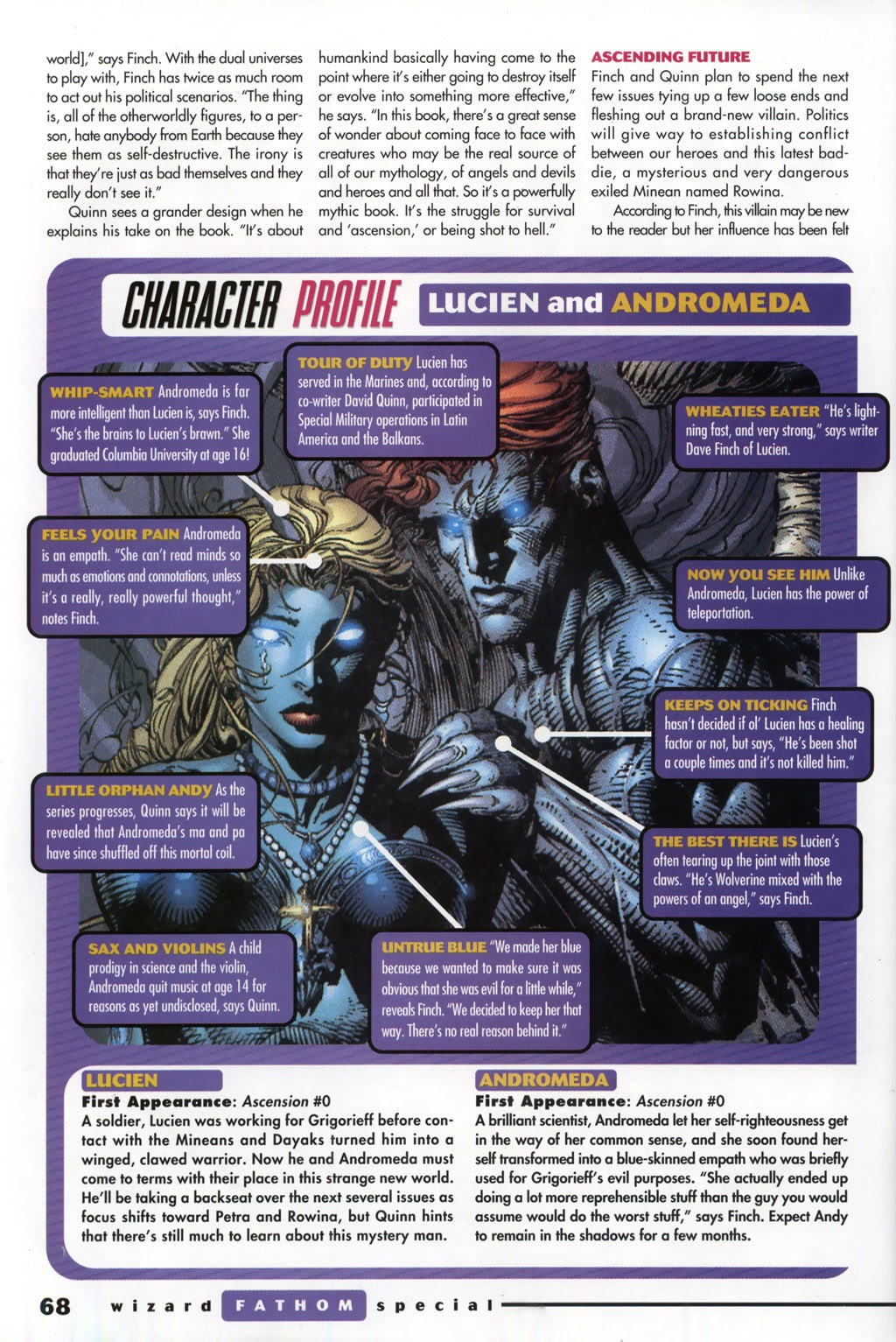 Read online Fathom Special comic -  Issue # Full - 49