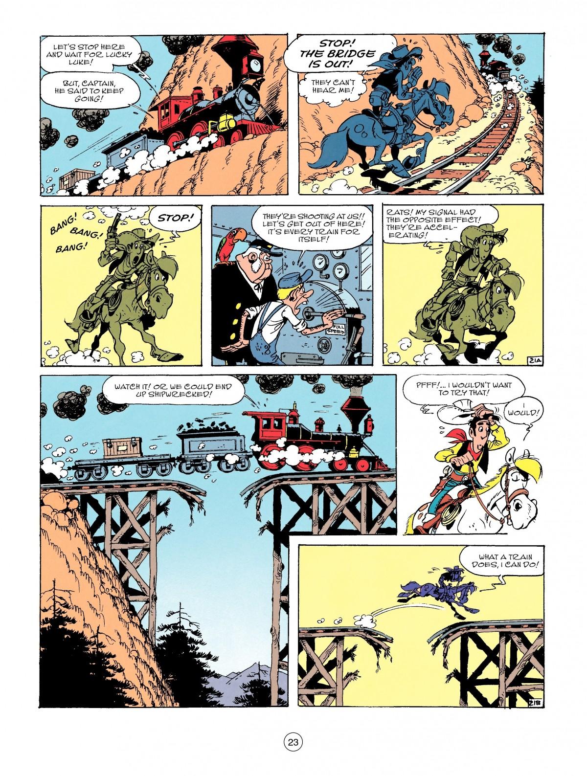 Read online A Lucky Luke Adventure comic -  Issue #53 - 23