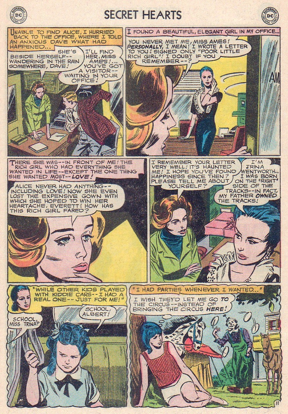 Read online Secret Hearts comic -  Issue #102 - 29
