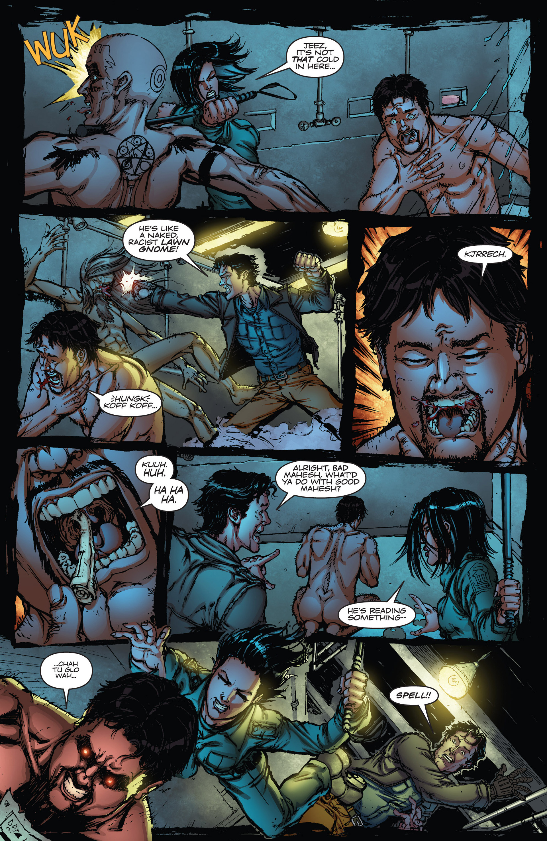 Read online Army of Darkness vs. Hack/Slash comic -  Issue #2 - 15