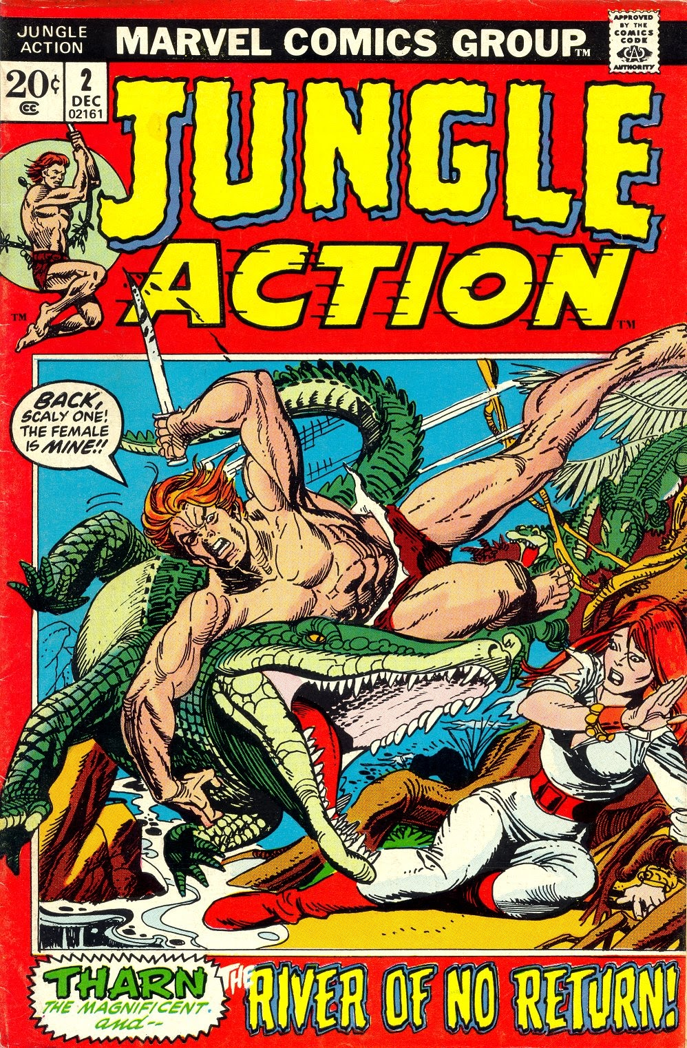 Jungle Action (1972) issue 2 - Page 1