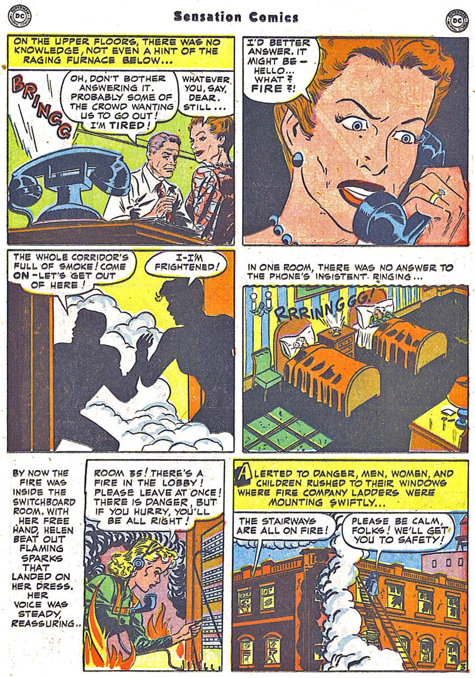 Read online Sensation (Mystery) Comics comic -  Issue #96 - 31