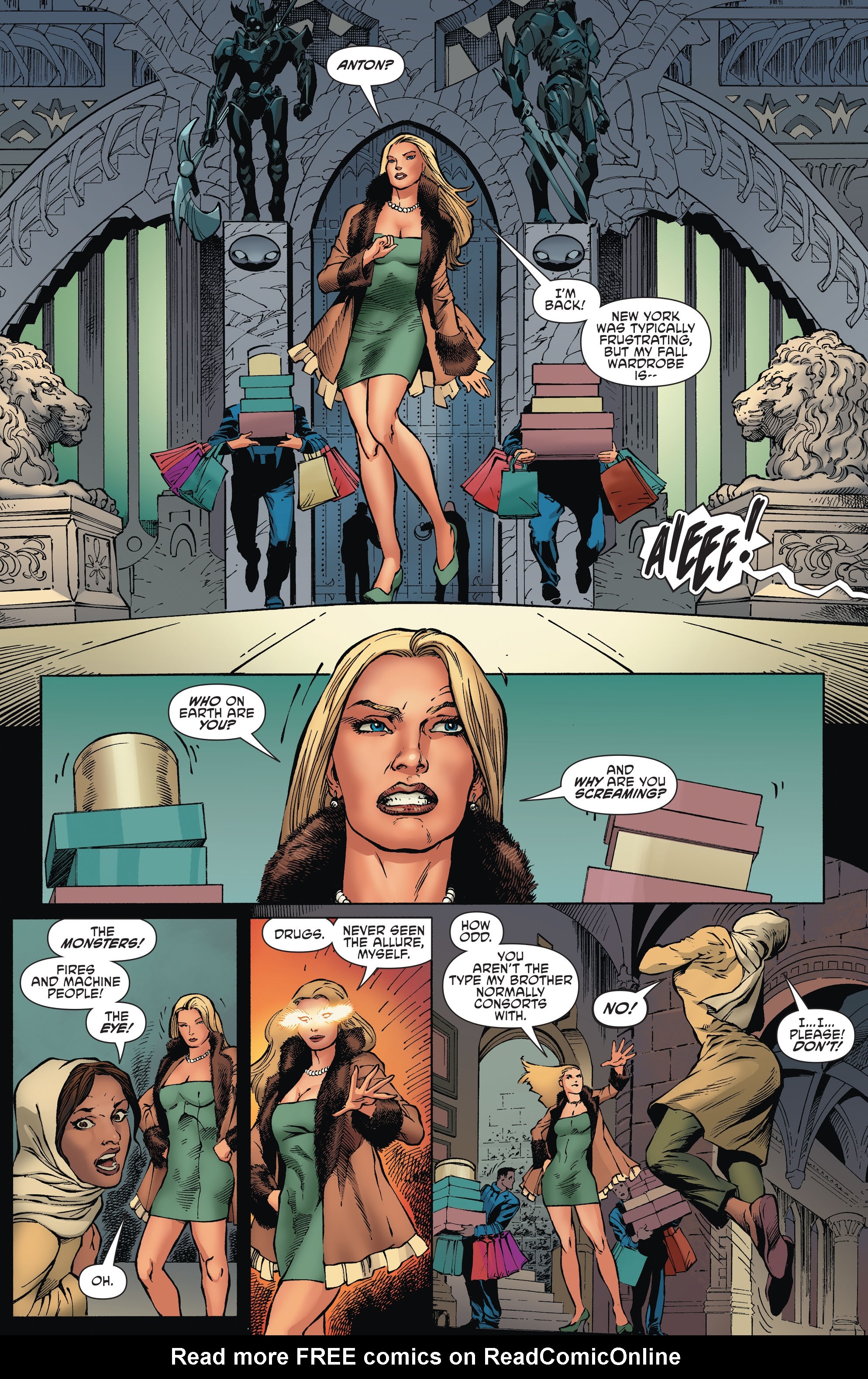Read online Aquaman and the Others comic -  Issue #2 - 13