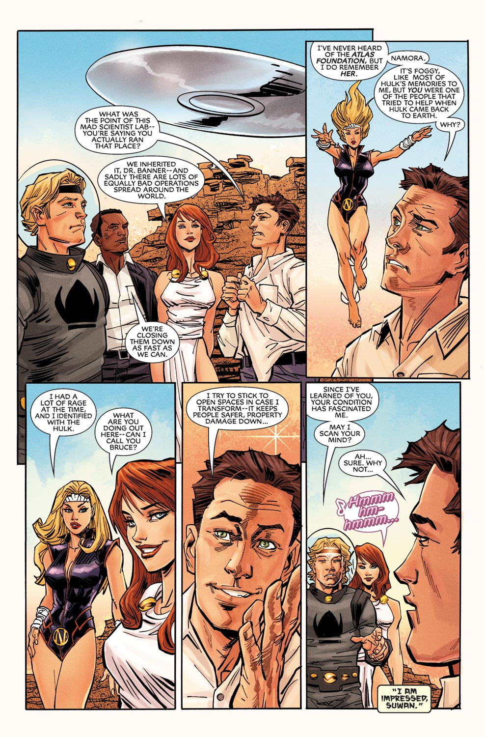 Read online Agents Of Atlas (2009) comic -  Issue #9 - 8