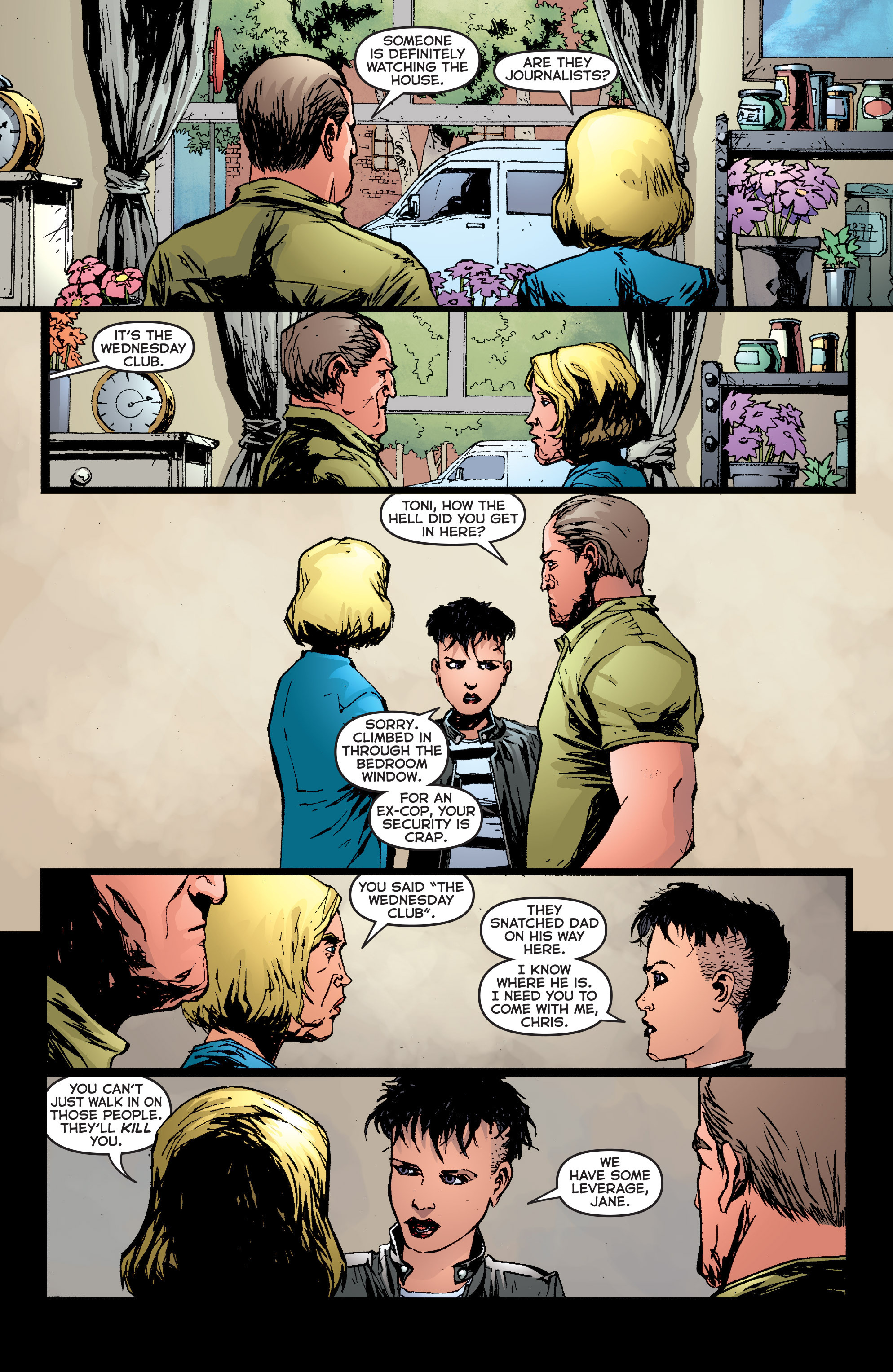 Read online Second Sight comic -  Issue #6 - 9