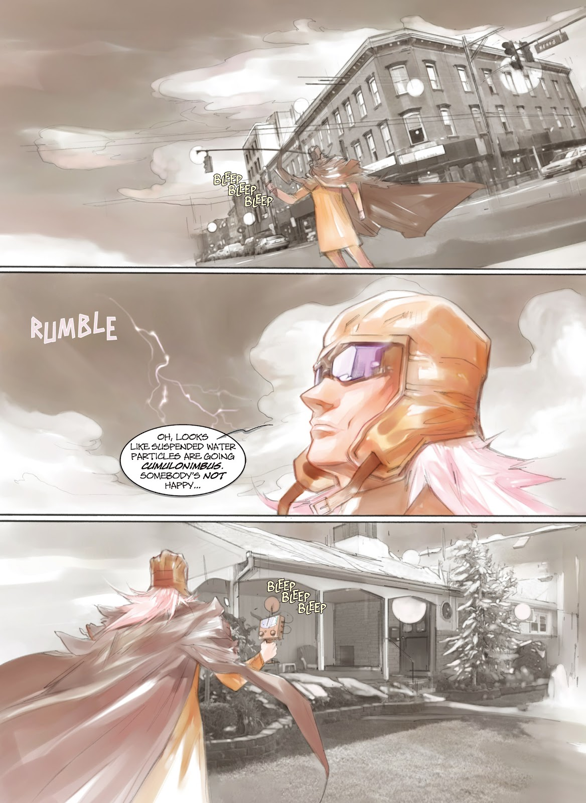 Read online Makeshift Miracle: The Girl From Nowhere comic -  Issue #5 - 13