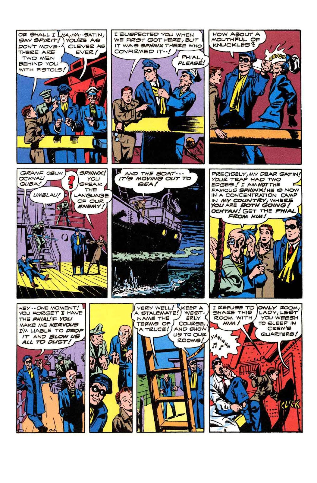 Read online Will Eisner's The Spirit Archives comic -  Issue # TPB 3 (Part 2) - 9