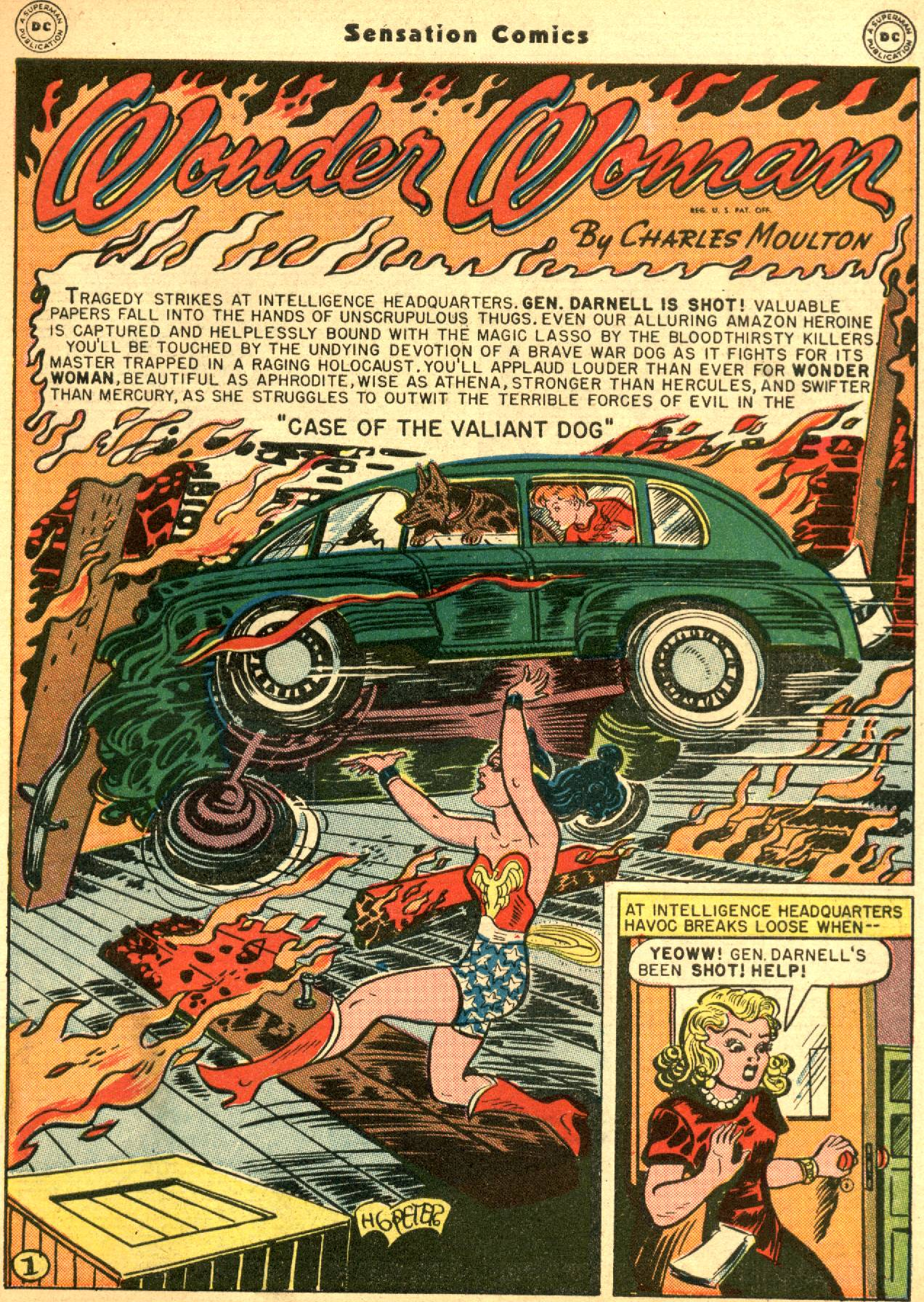 Read online Sensation (Mystery) Comics comic -  Issue #53 - 3