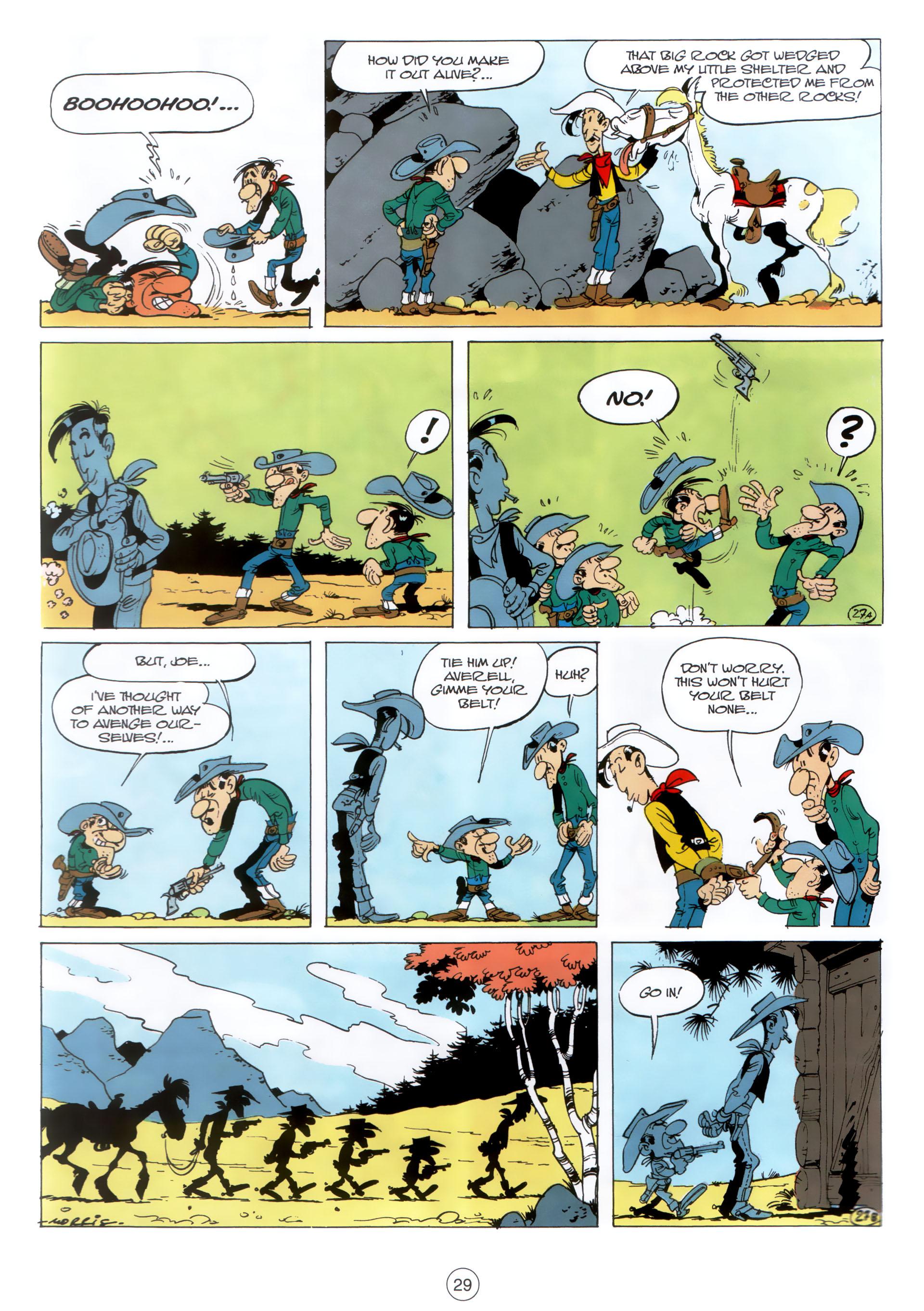 Read online A Lucky Luke Adventure comic -  Issue #30 - 28