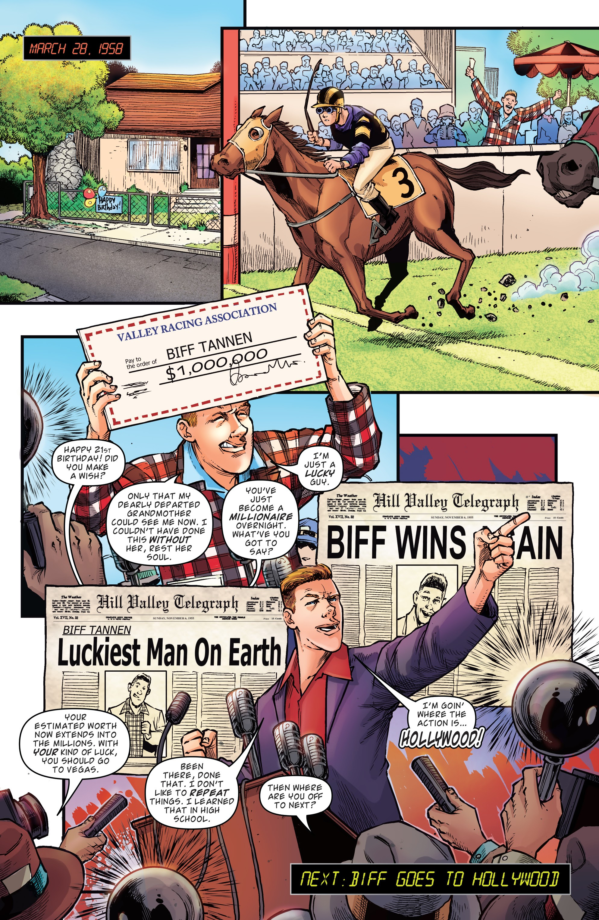 Read online Back to the Future: Biff to the Future comic -  Issue #1 - 22