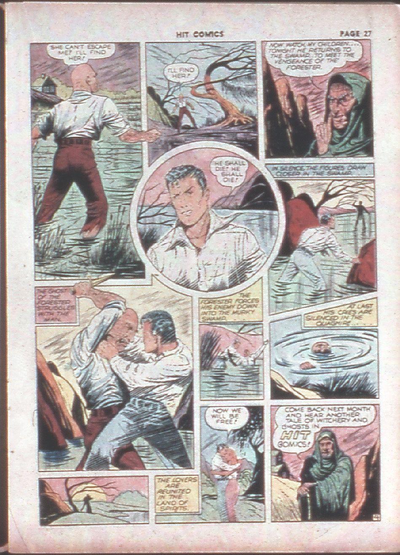 Read online Hit Comics comic -  Issue #8 - 29