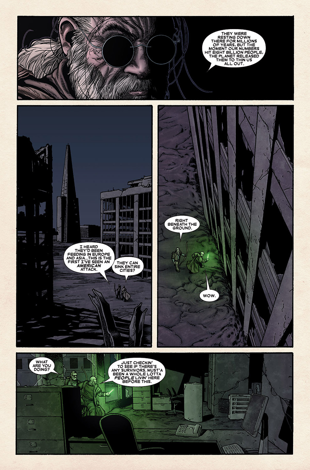 Read online Wolverine: Old Man Logan comic -  Issue # Full - 33