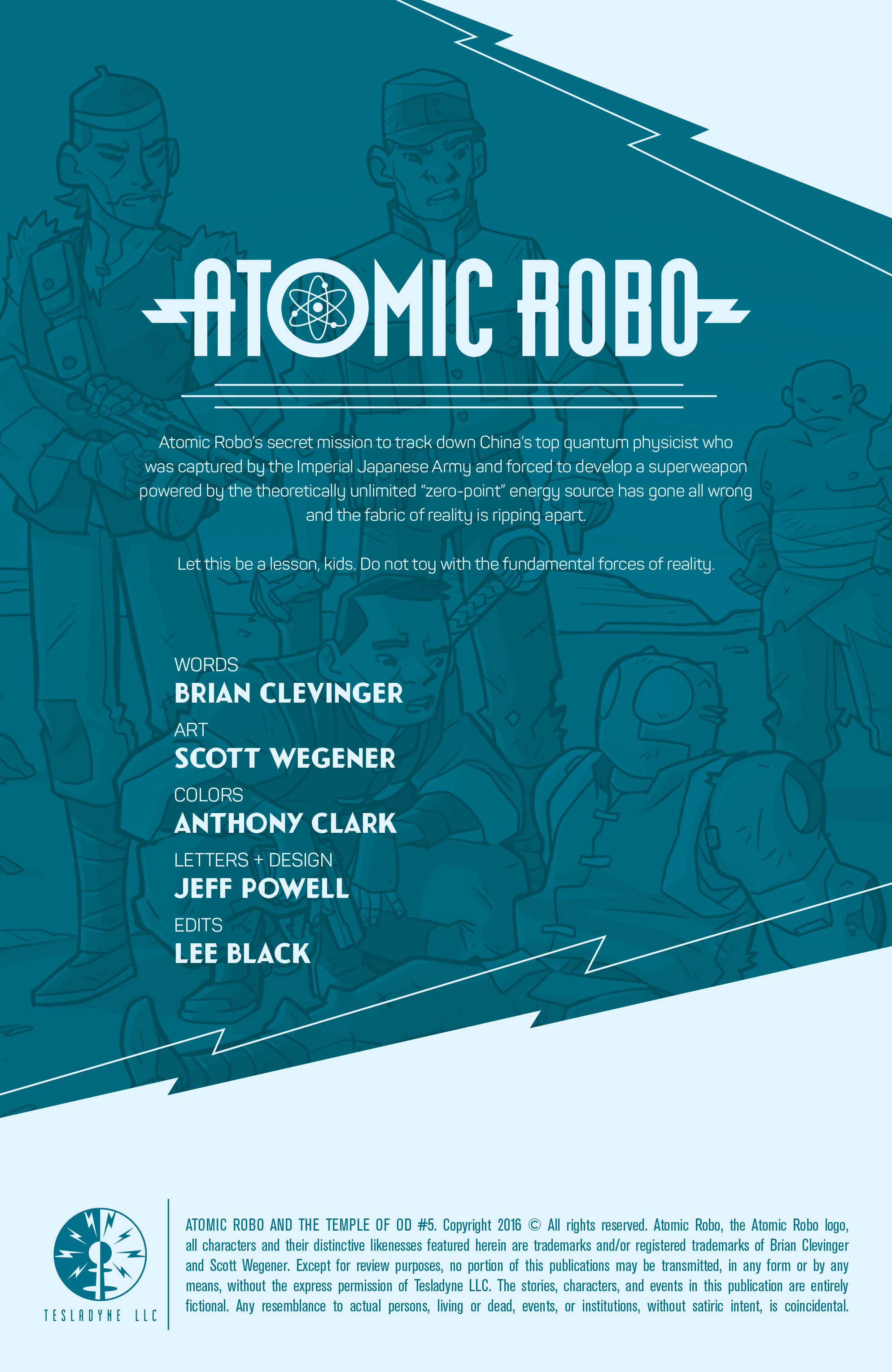 Read online Atomic Robo and the Temple of Od comic -  Issue #5 - 2