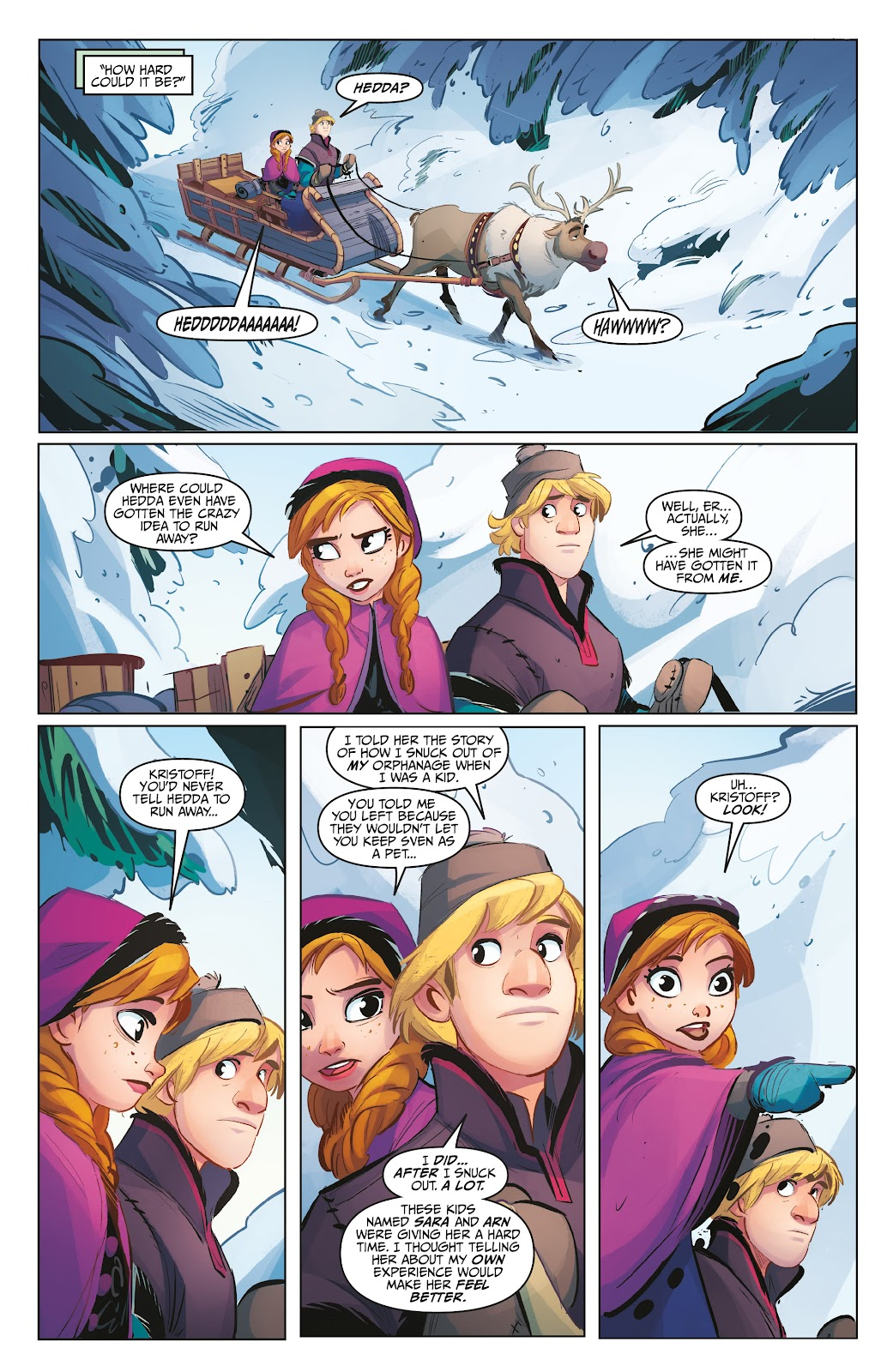 Read online Disney Frozen: The Hero Within comic -  Issue #2 - 11
