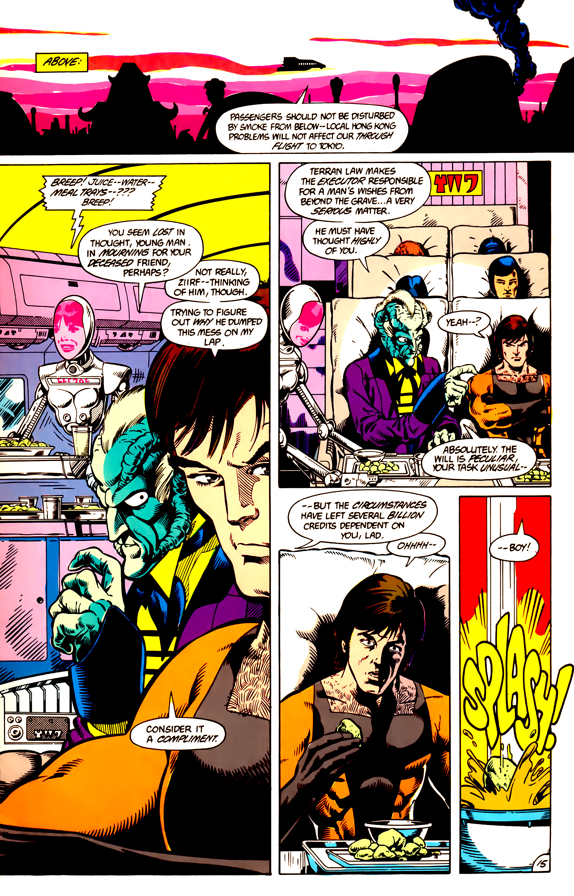 Legion of Super-Heroes (1984) 9 Page 16
