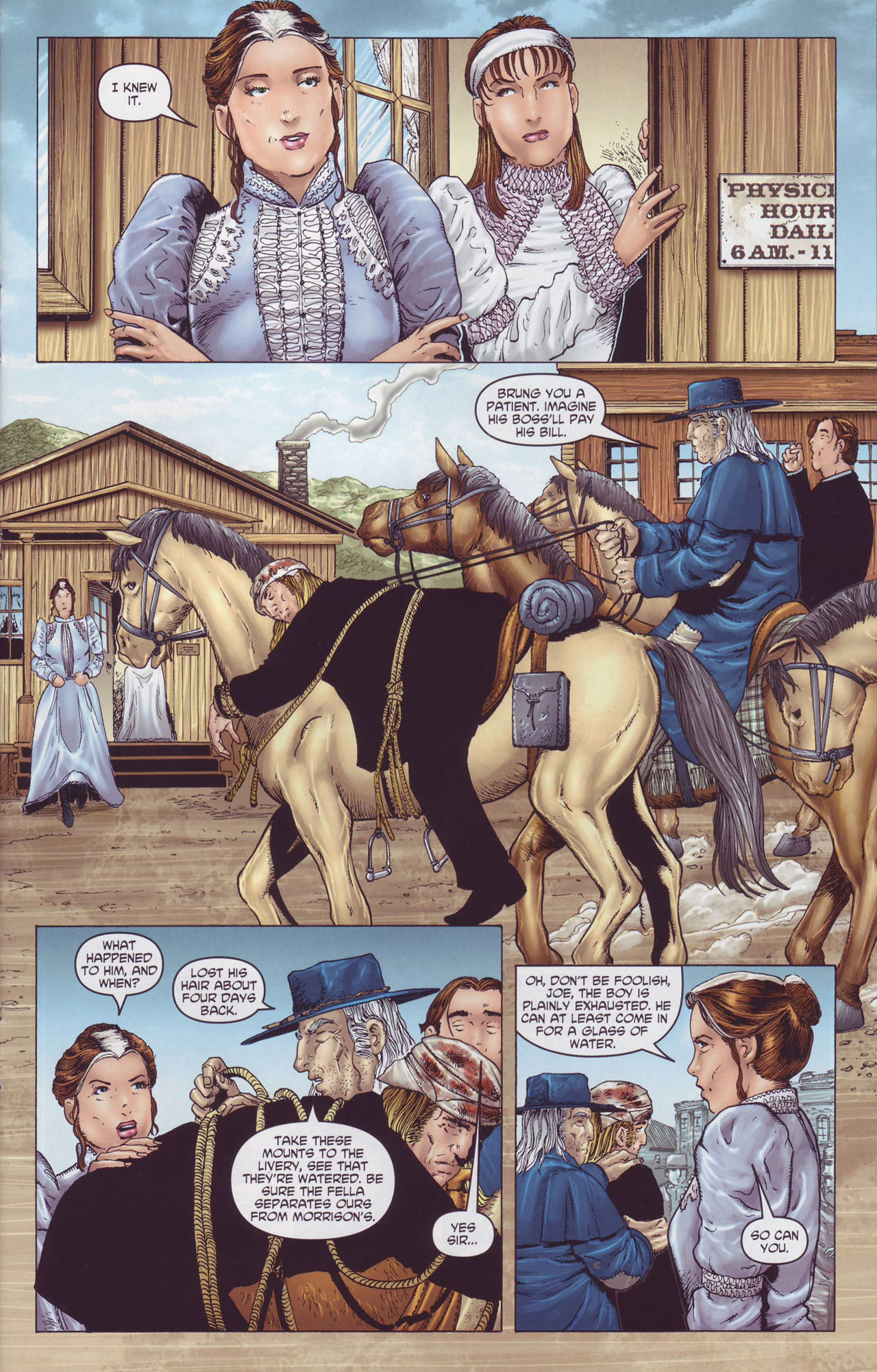 Read online Garth Ennis' Streets of Glory comic -  Issue #4 - 17