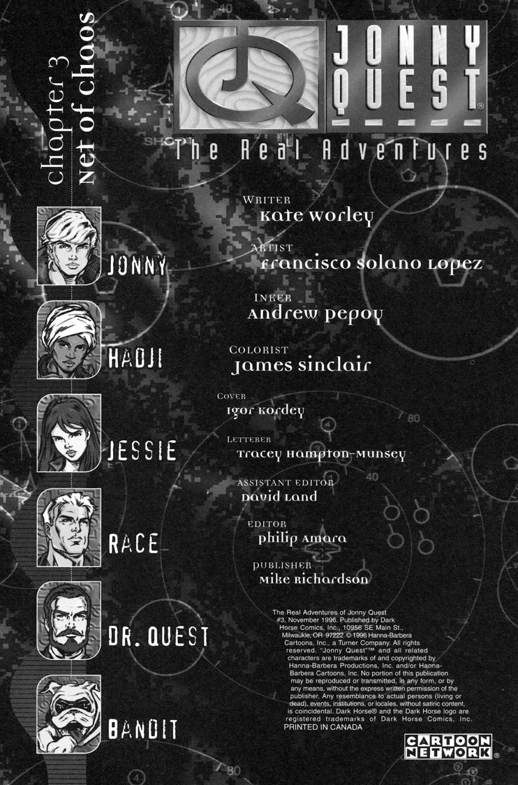Read online The Real Adventures of Jonny Quest comic -  Issue #3 - 2
