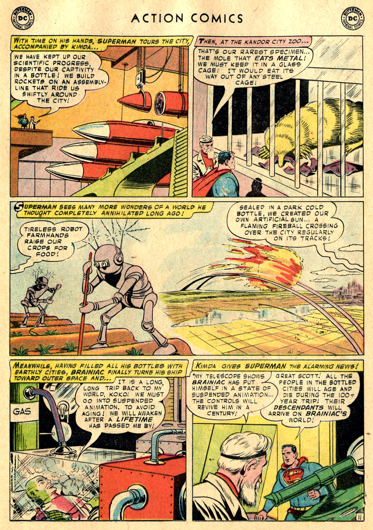 Read online Action Comics (1938) comic -  Issue #242 - 13
