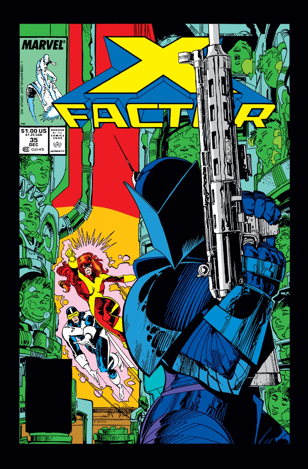 Read online X-Factor (1986) comic -  Issue #35 - 1