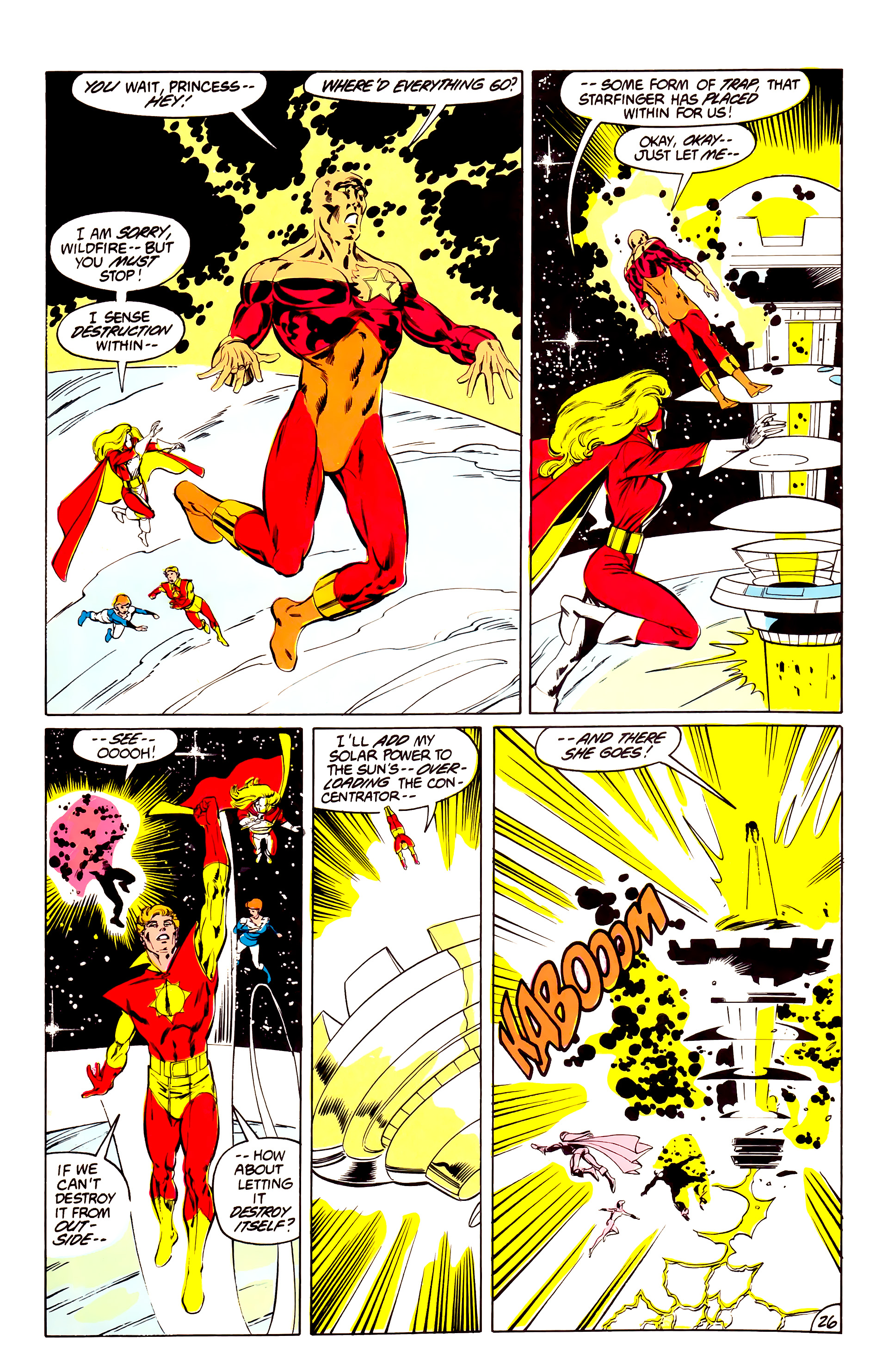 Legion of Super-Heroes (1984) 40 Page 26