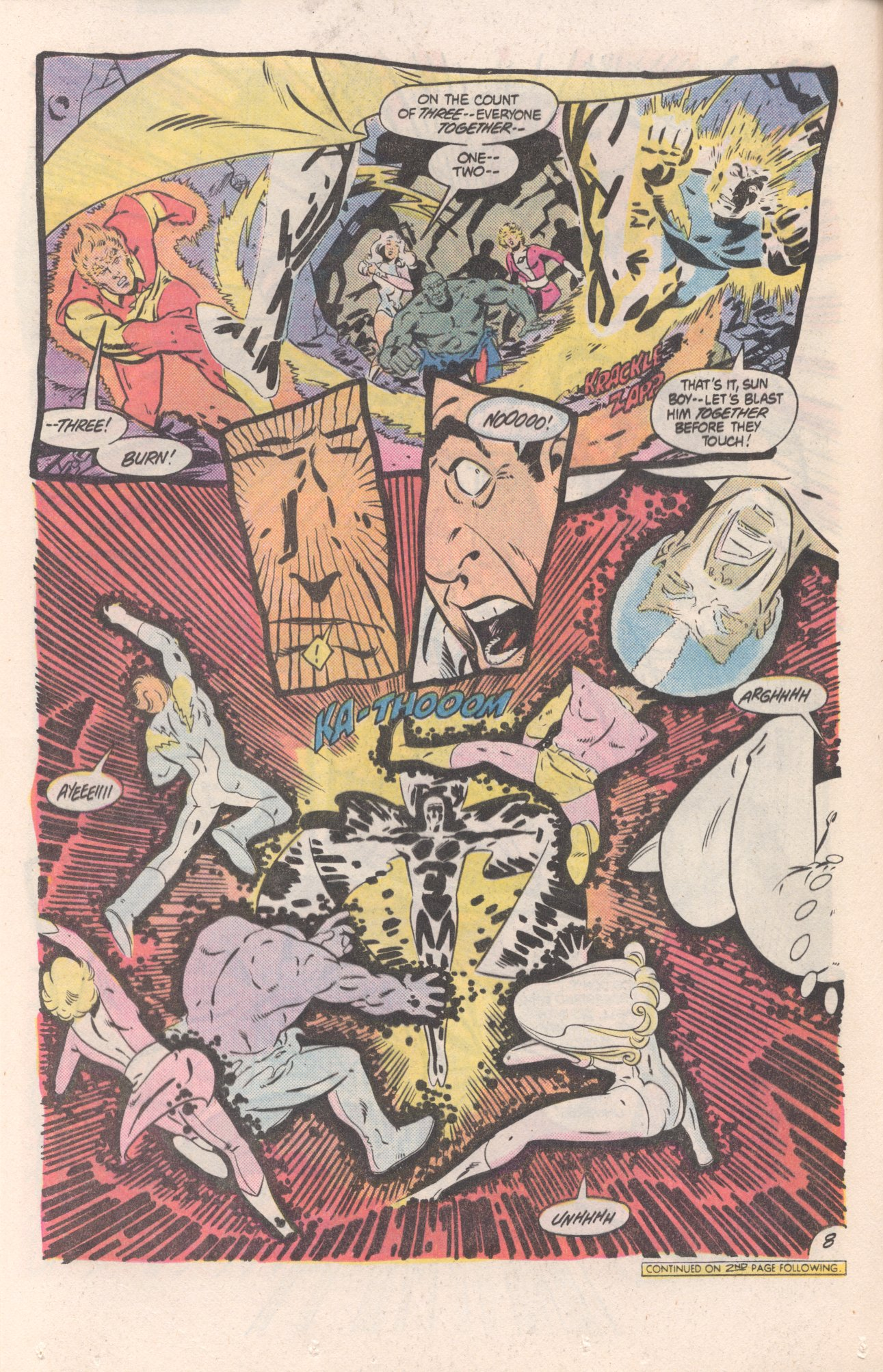 Legion of Super-Heroes (1980) 310 Page 8